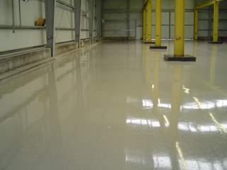 Industrieboden Industriebodenbeschichtung Garagenbeschichtung